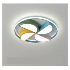 LED chambre d'enfants plafonnier créatif moulin à vent chambre lampe parc d'attractions lampe maternelle dessin animé lampe